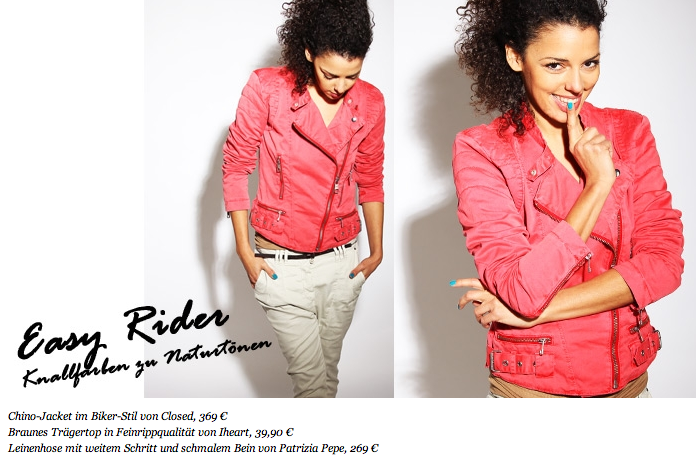 Petra Fashion Werbung